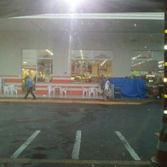 Photo taken at Supermercado Troyano Mais by Pamela e Sandro M. on 12/21/2012