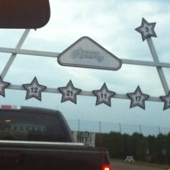 Photo taken at Pocono Raceway by Nicole H. on 10/14/2012