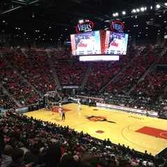 Photo taken at Viejas Arena by Jenny R. on 12/19/2012