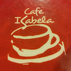 Photo taken at Cafe Isabela by Charys N. on 1/24/2013