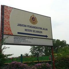 Photo taken at Jabatan Pengangkutan Jalan (JPJ) by M Kamil A. on 8/5/2013