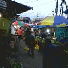 Photo taken at Pasar Lawang by Novel H. on 1/16/2014
