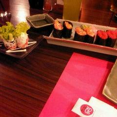Photo taken at Sushi Nobu by liyon m. on 3/10/2013