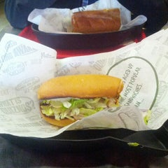 Photo taken at Quiznos by Alicia C. on 11/1/2012