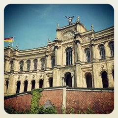 Photo taken at Bayerischer Landtag by Stefan U. on 6/18/2013