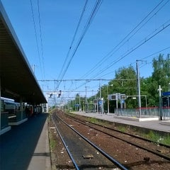 Photo taken at Gare SNCF de La Verrière by Andy D. T. on 6/6/2014