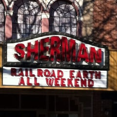 Photo taken at Sherman Theater by Adam H. on 11/25/2011