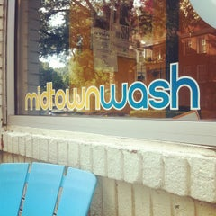Photo taken at Midtown Wash by Jason Q. on 9/8/2012