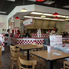 Photo taken at Five Guys by Jessica M. on 1/25/2013
