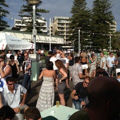 Photo taken at Manly Wharf Bar by Trent A. on 12/30/2012