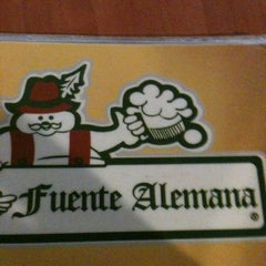 Photo taken at Fuente Alemana by Dany on 12/18/2012