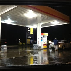 Photo taken at Shell by Brian on 1/29/2013