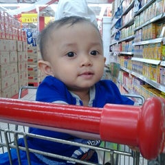 Photo taken at Carrefour by Didik R. on 8/16/2014