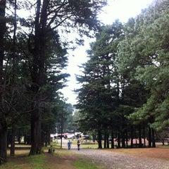 Photo taken at Parque Los Columpios by Fabiola P. on 12/1/2012