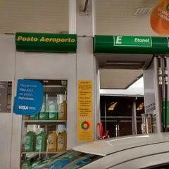 Photo taken at Auto Posto Aeroporto by Sergio A. on 12/21/2015
