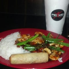 Photo taken at Pei Wei by Yesenia T. on 4/17/2013