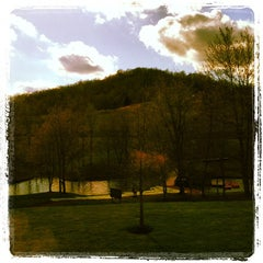 Photo taken at Stonewall Resort by Peter F. on 4/23/2014