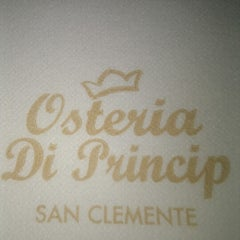 Photo taken at Osteria Di Princip by Pasquale R. on 9/20/2012
