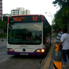 Photo taken at SBS Transit: Bus 53 by Koh W. on 6/18/2014