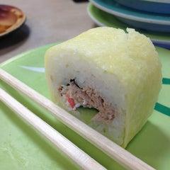 Photo taken at Marinepolis Sushi Land by Allen C. on 6/25/2013