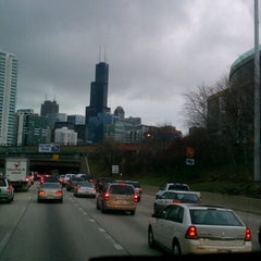 Photo taken at Kennedy Expressway by Paul W. on 12/10/2012
