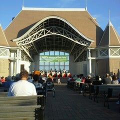 Photo taken at Lake Harriet Band Shell by Ethan B. on 6/18/2013