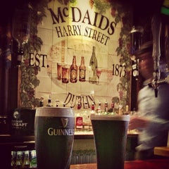 Photo taken at McDaid's by Davy M. on 4/18/2013