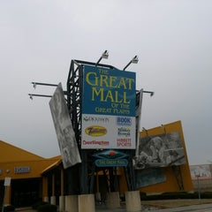 Photo taken at The Great Mall of the Great Plains by Michael P. on 3/19/2013