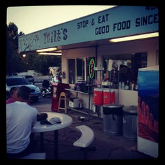 Photo taken at Milt's Stop & Eat by Captain on 9/30/2012