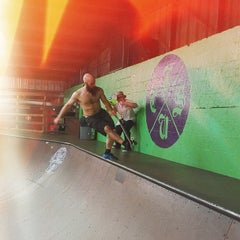 Photo taken at Skatepark Of Tampa by Rich on 4/10/2015