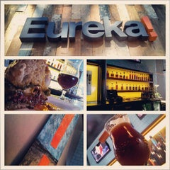 Photo taken at Eureka Gourmet Burger and Craft Beer by That B. on 2/15/2013