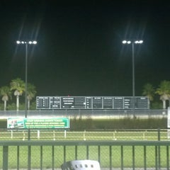 Photo taken at Daytona Beach Kennel Club and Poker Room by James K. on 8/10/2014