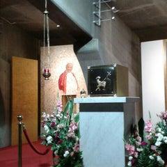 Photo taken at Świątynia Opatrzności Bożej by Radoslaw P. on 8/22/2015