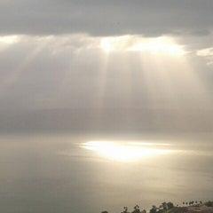 Photo taken at Sea of Galilee - Kinneret (כנרת) by Radoslaw P. on 4/10/2013