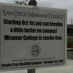 Photo taken at San Diego Miramar College by Carol V. on 5/22/2013