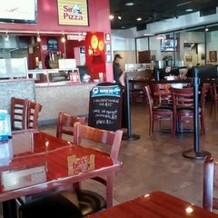 Photo taken at Sir Pizza by kitty S. on 12/21/2012