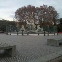 Photo taken at Fuente de las Nereidas by Federico P. on 6/13/2015