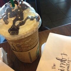 Photo taken at Starbucks by Megan on 1/31/2013
