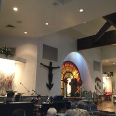Photo taken at Blessed Sacrament Church by Darlene O. on 10/28/2012