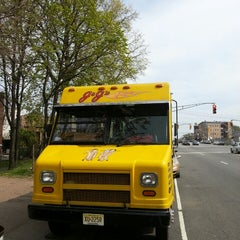 Photo taken at JJ's Hot Dog Truck by Joseph L. on 4/28/2013