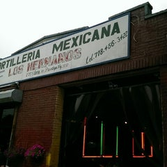 Photo taken at Tortilleria Mexicana Tres Hermanos by Thomas F. on 7/2/2015