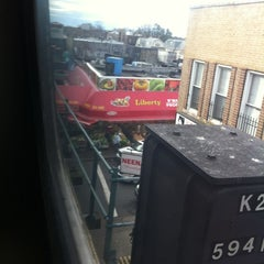 Photo taken at MTA Subway - Ozone Park/Lefferts Blvd (A) by Barbara on 11/4/2012