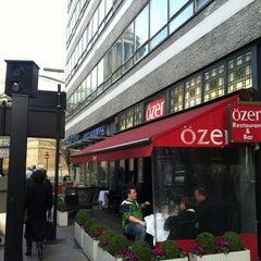 Photo taken at Özer Restaurant & Bar by H. L. on 11/23/2012