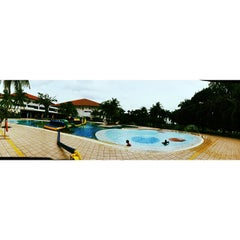Photo taken at Orchid Country Club Swimming Pool by ❣ мα∂αмɛ ƨιтι ❣™ on 1/18/2014