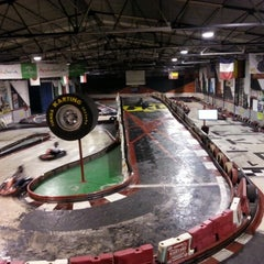 Photo taken at Fórmula Karting Granada by Daniel R. on 11/13/2012