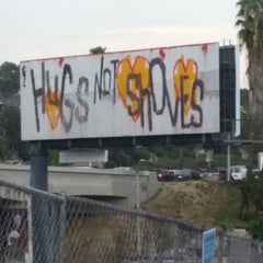 Photo taken at I-110 (Harbor Freeway) by STEFCON 1 on 3/19/2015