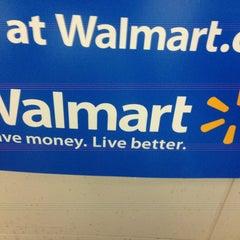 Photo taken at Walmart Supercenter by Alberto M. on 8/27/2013