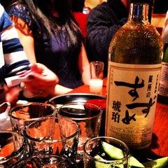 Photo taken at Sake Bar Hagi by Dan L. on 12/21/2012