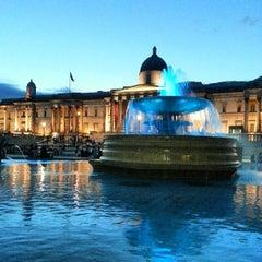 Photo taken at Trafalgar Square by Adam H. on 7/28/2013