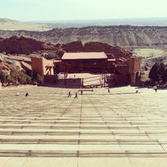 Photo taken at Red Rocks Park & Amphitheatre by Adam H. on 3/19/2013